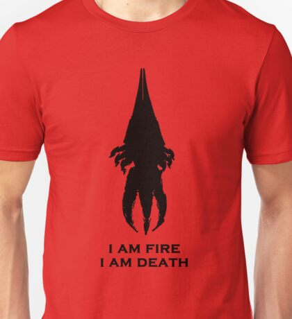 I'm fire, i'm death! cit. Reapier! Unisex T-Shirt