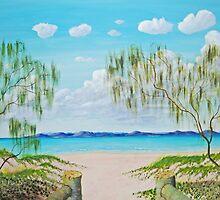 Sandy Straits to Fraser Island by robert murray