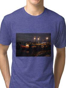Night Pier Tri-blend T-Shirt