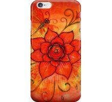 Sacral Chakra Orange Lotus Flower iPhone Case/Skin