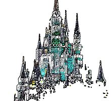 Cinderella Castle by WDWCEC23