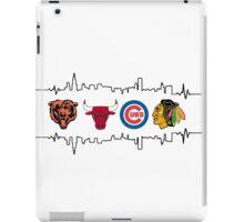 Chicago Sports Heart Beat 2 iPad Case/Skin