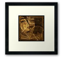 love don't live here anymore [smoky matte rendition] Framed Print