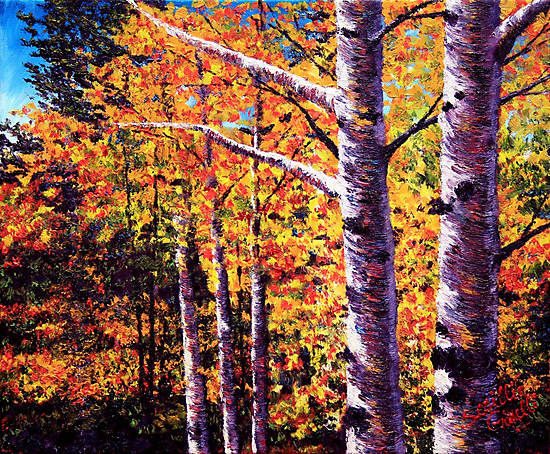 The Two Aspens by sesillie