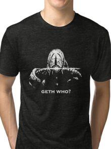 Geth Who Tri-blend T-Shirt