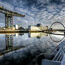 River Clyde reflected by Daniel Davison