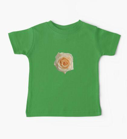 Charming white rose Baby Tee