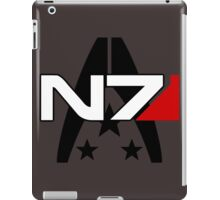 N7 Mass Effect, Alliance of the systems iPad Case/Skin