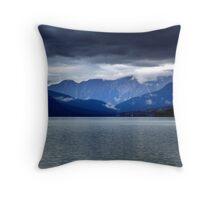 Moose Lake  Throw Pillow