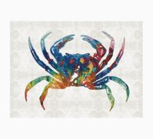 Colorful Crab Art By Sharon Cummings Kids Clothes