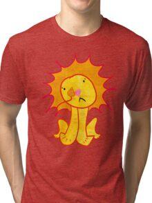 Sad Lion Tri-blend T-Shirt