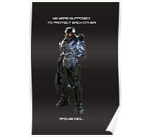Master Chief and Cortanna Poster