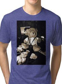 Teddy the Photographer Tri-blend T-Shirt