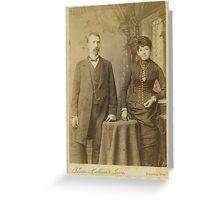 Mr & Mrs Charles Englert Greeting Card