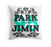 95 Jimin Throw Pillow