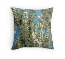 Apple Orchards Throw Pillow