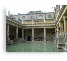 ROMAN BATHS, Bath, UK Canvas Print