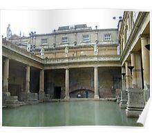ROMAN BATHS, Bath, UK Poster