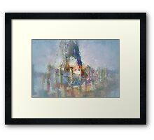 Sampit Shrimper Framed Print