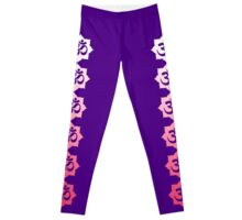 OM Namaste Yoga Lotus Flower Leggings