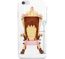 Custard Cream - King of the dunk! iPhone Case/Skin