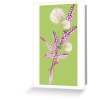 Soft bouquet of wildflowers Greeting Card