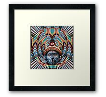Mayan quest Framed Print