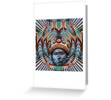 Mayan quest Greeting Card