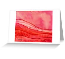 Red Hills Greeting Card