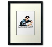 Top Gun - Maverick Approves Framed Print