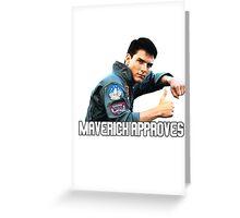Top Gun - Maverick Approves Greeting Card