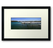 Fishing paradise at Narooma Framed Print