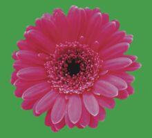 Beautiful pink flower One Piece - Short Sleeve
