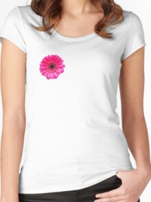 Beautiful pink flower Women's Fitted Scoop T-Shirt