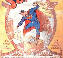 Superman Poster by FernandoVieira