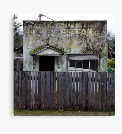 Real Estate Decay Canvas Print
