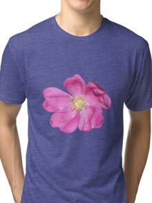 Soft purple flower Tri-blend T-Shirt
