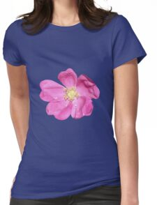 Soft purple flower Womens Fitted T-Shirt
