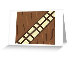 Wookie Belt Greeting Card
