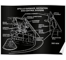 Project Apollo Drawings and Technical Diagrams ad0090007 Poster