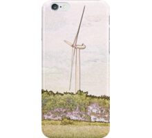 Wind Turbine. iPhone Case/Skin