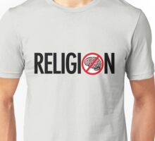 No Brains in Religion Unisex T-Shirt