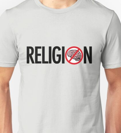 No Brains in Religion T-Shirt