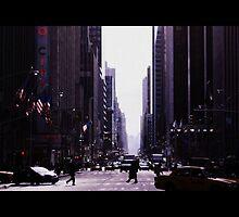 Bright January in New York City by Sara Elin Nilsson
