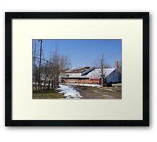 The Fieldhouse Framed Print