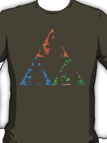 Pokemon TriForce (Original 3 Pokemon)  T-Shirt