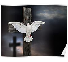 The Crucifixion of Peace Poster