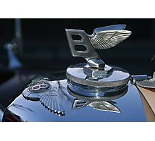 Bentley Wants To Fly Photographic Print
