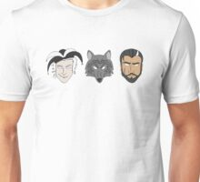 Fitz, The Fool, and Nighteyes Unisex T-Shirt