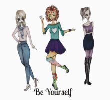 Be Yourself by soullessartist